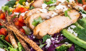 Chipotle Grilled Chicken Salad